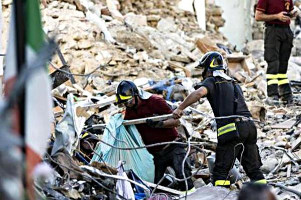 Soccorsi Terremoto