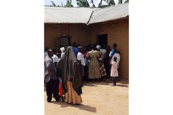 Africa visita Pediatrica